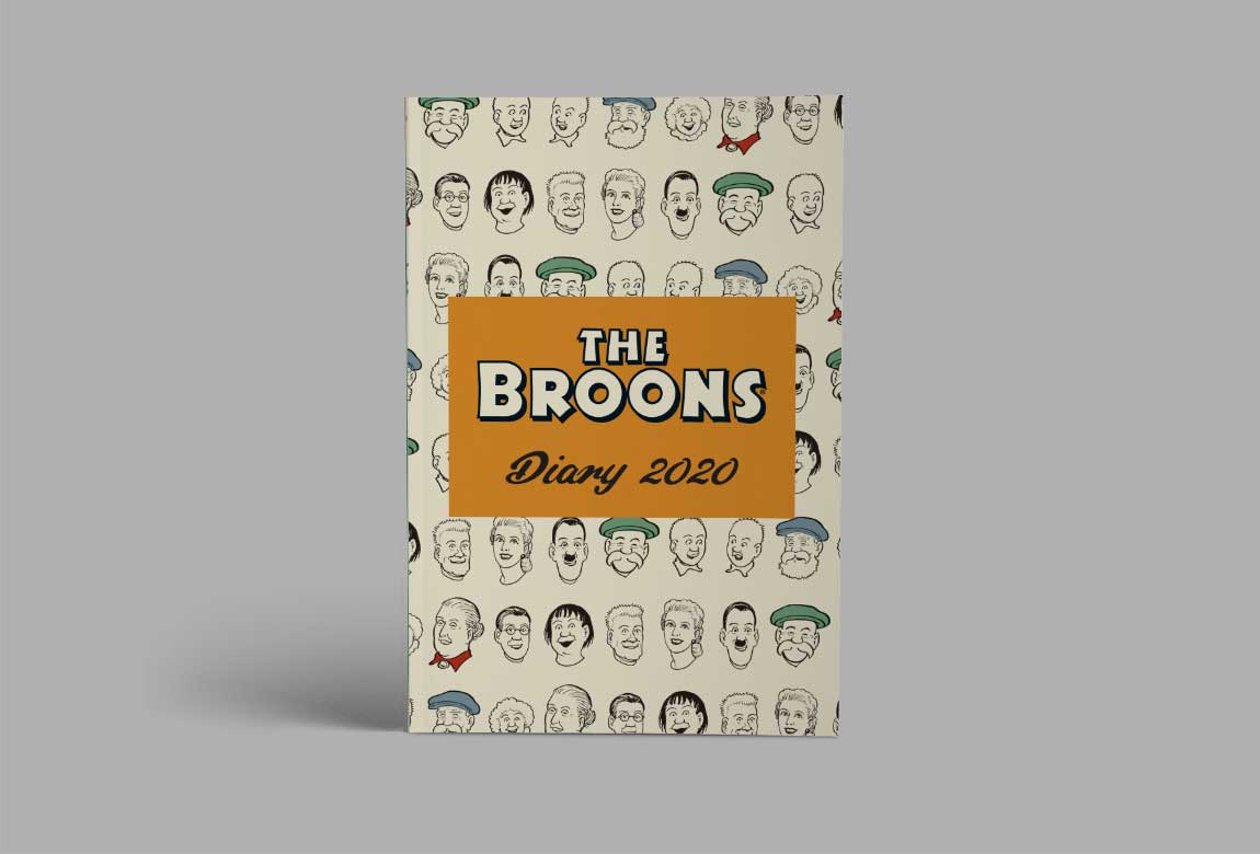 Cover of the Broons Diary 2020