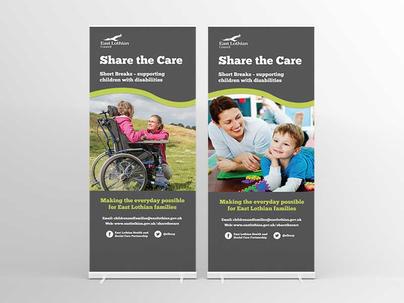 ELC Share the Care Banners