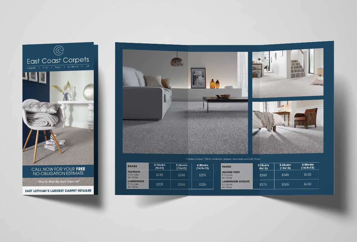 East Coast Carpets Leaflet