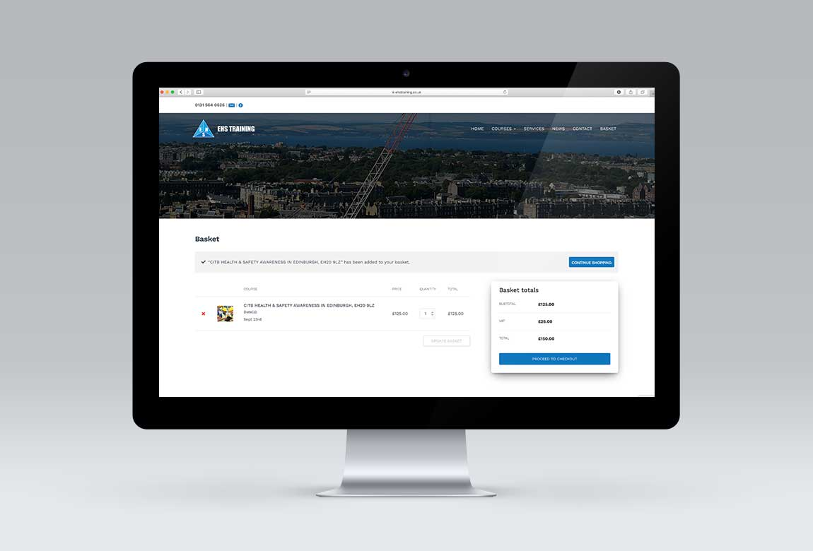 EHS Training Website