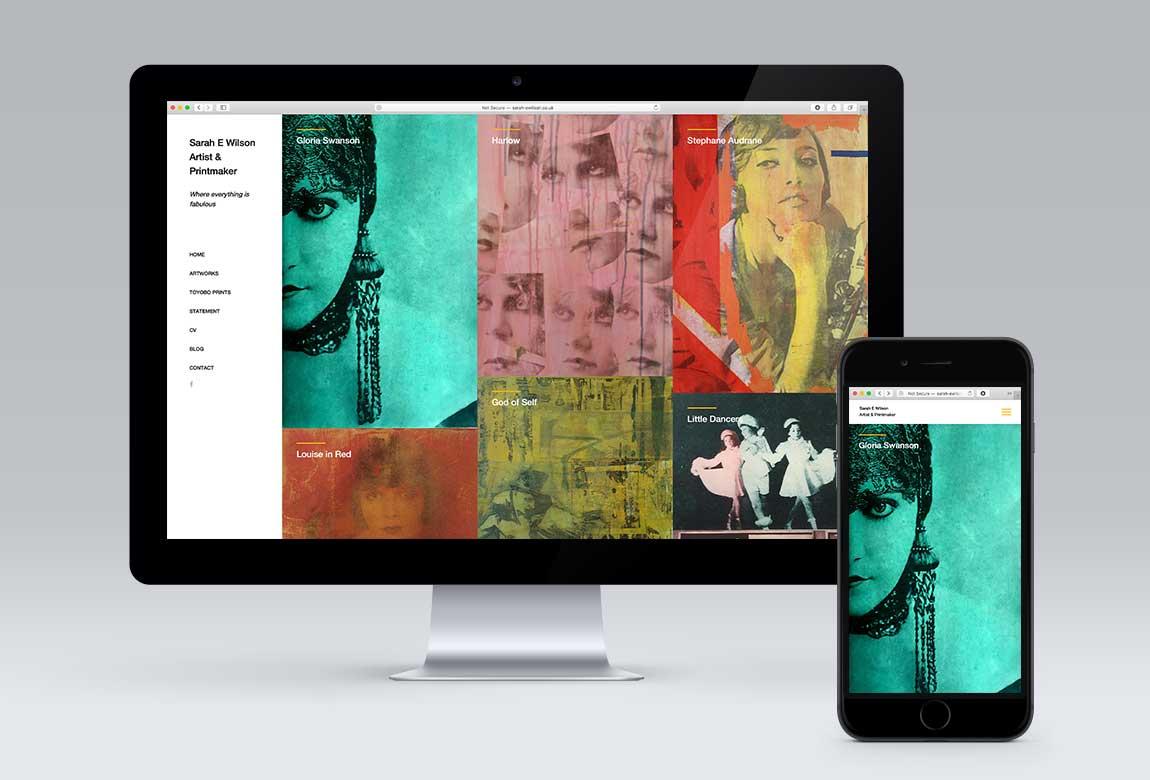 Sarah E Wilson Website